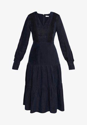 MIX DRESS MIDI - Day dress - navy blue