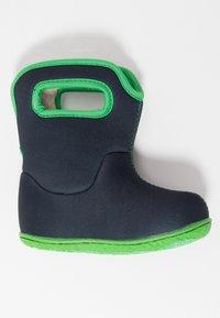 Bogs - BABY SOLID - Zimní obuv - navy - 0