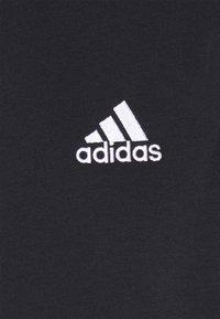 adidas Performance - Korte sportsbukser - black/white - 5