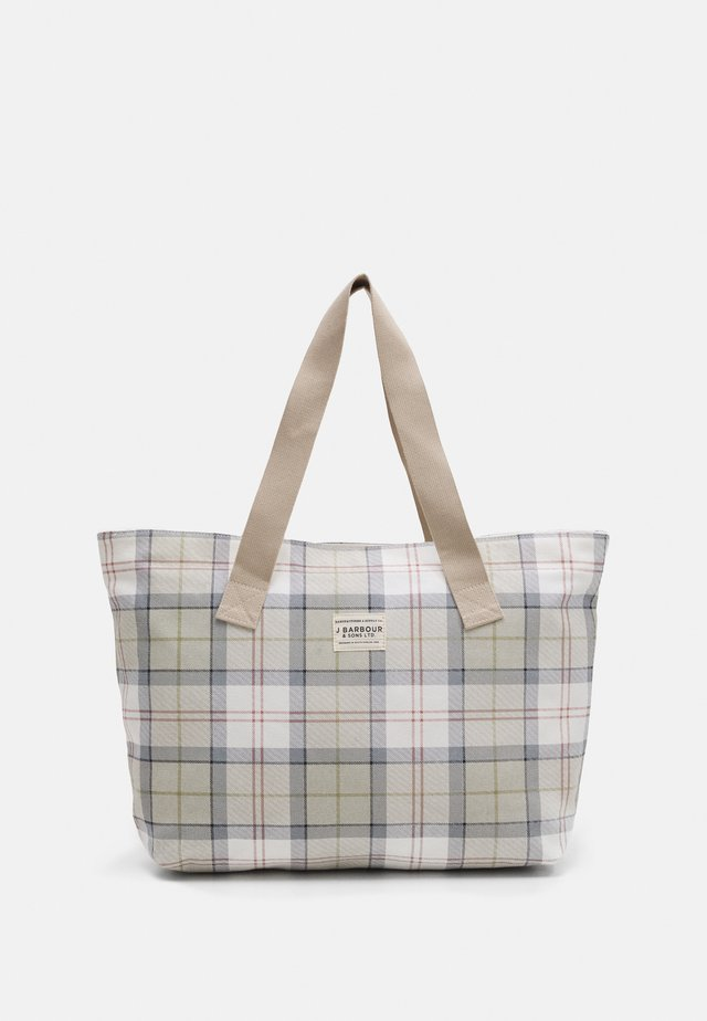 PRINTED - Shopping Bag - mist tartan