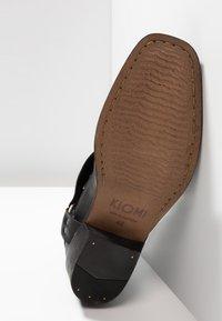 KIOMI - Cowboy/biker ankle boot - black - 4