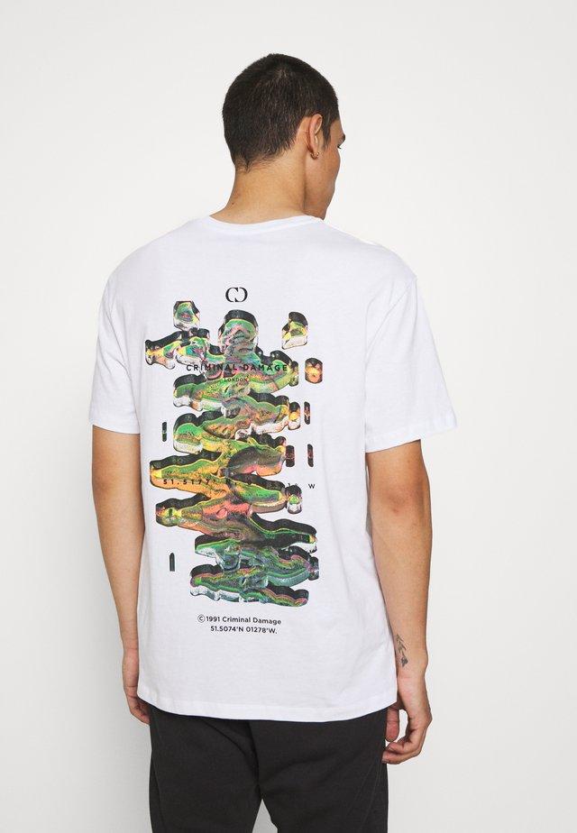 DNA TEE - T-Shirt print - white