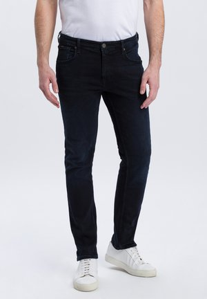 DAMIEN - Straight leg jeans - blue/black