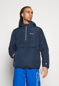 Champion - HOODED JACKET - Winter jacket - navy - 0