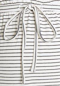 MAMALICIOUS - MLALISON DRESS  - Jersey dress - snow white / black - 2