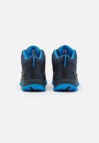 TrollKids - KIDS RONDANE MID UNISEX - Hiking shoes - navy/medium blue - 2