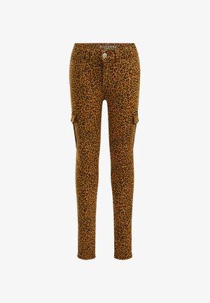 Slim fit jeans - light brown
