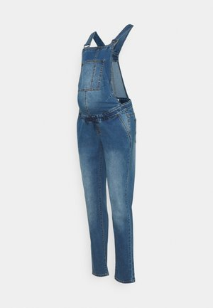 MLSUNRISE COMFY OVERALL - Peto - medium blue denim