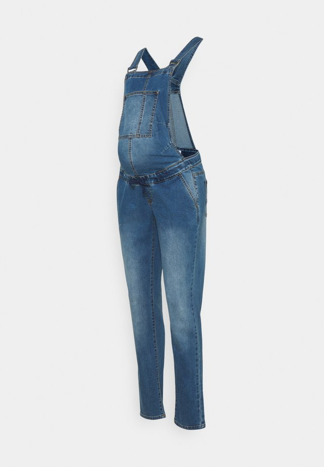 MLSUNRISE COMFY OVERALL - Dungarees - medium blue denim