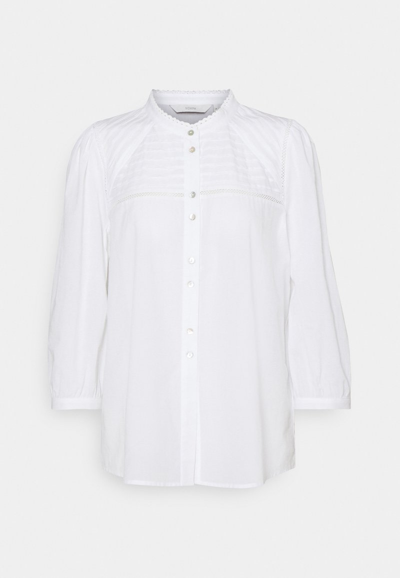 Nümph - NUCINDAY - Button-down blouse - bright white