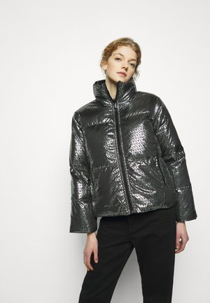 Down jacket - black/silver