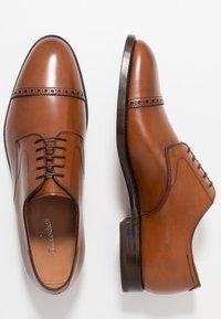 Franceschetti - Zapatos con cordones - luxanil noce scuro - 1