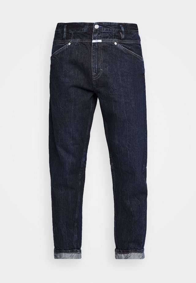 X LENT TAPERED - Jeans Tapered Fit - dark blue