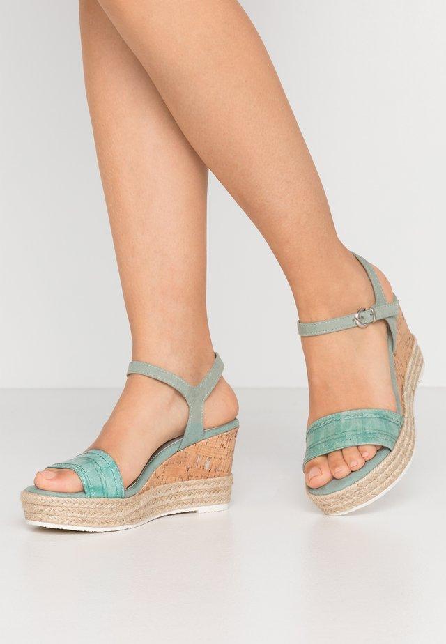 Sandalias de tacón - sage