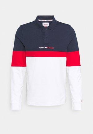 Poloshirt - twilight navy/red/white