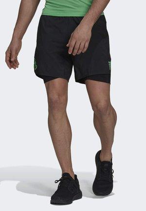 ADIZERO  - Pantalón corto de deporte - black