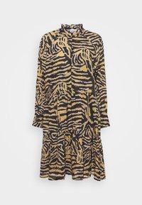 ZEBRALY DRESS - Day dress - bistre