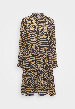 ZEBRALY DRESS - Robe d'été - bistre