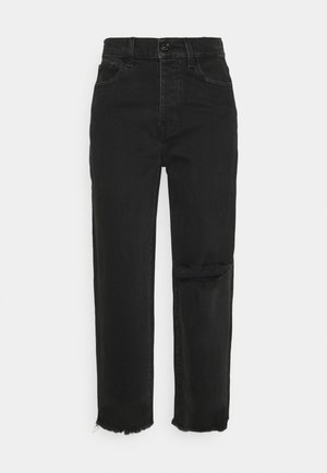 DYLAN FEARLESS DISTRESSED - Džíny Straight Fit - black
