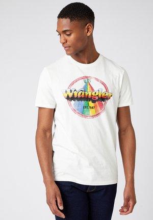 RAINBOW - Print T-shirt - off white