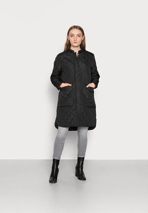 SLFFILLIPA QUILTED COAT - Parkaer - black