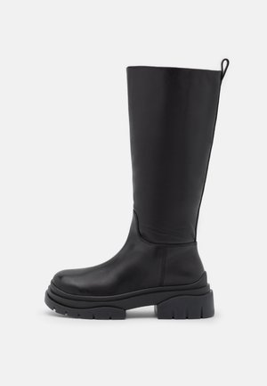 SUPREMIUM - Platform boots - black