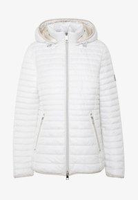 Barbara Lebek - STEPP MIT KAPUZE - Light jacket - offwhite - 5