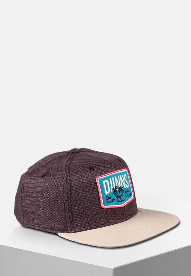 Cap - dark brown