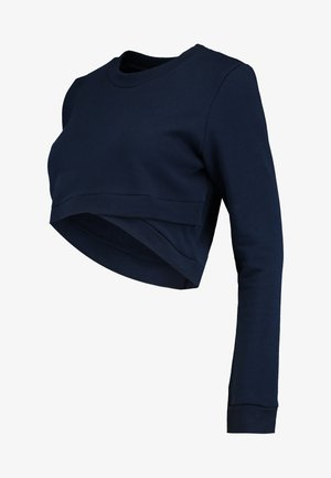 CROPPED - Sweatshirt - navy