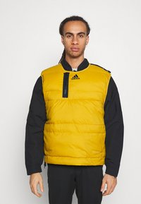 adidas Performance - URBAN OUTDOOR VEST - Väst - gold - 3