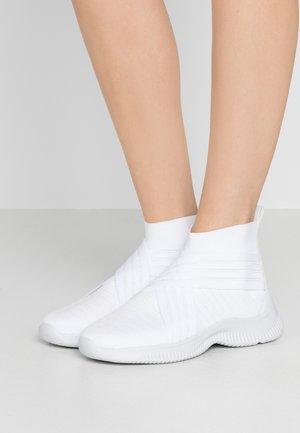 Høye joggesko - blanc