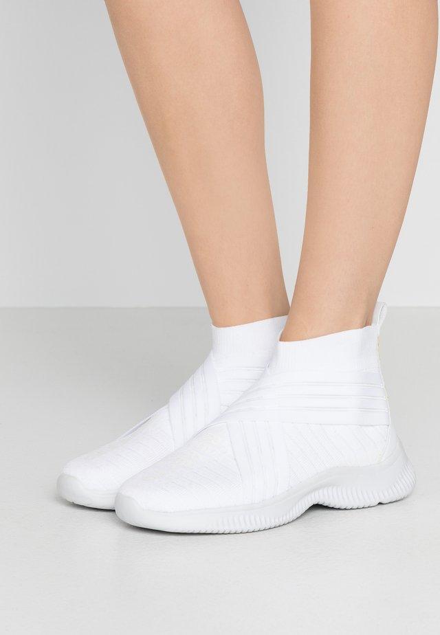 Sneakersy wysokie - blanc