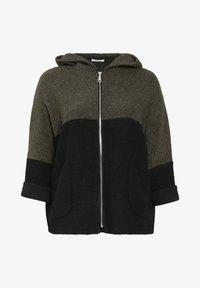 Paprika - Zip-up hoodie - khaki - 4