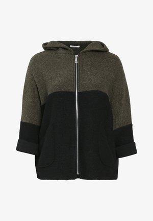 Zip-up sweatshirt - khaki
