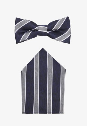 ONSTBOX TYLER BOW TIE AND HANKERCHIEF SET - Kapesník do obleku - dress blues