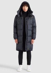 khujo - PERUN - Winter coat - schwarz print - 5