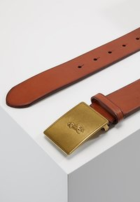 Polo Ralph Lauren - PLAQUE BELT - Cintura - tan - 2
