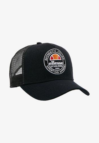 PONTRA - Cap - black