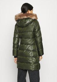 Calvin Klein - ESSENTIAL REAL COAT - Down coat - dark olive - 2