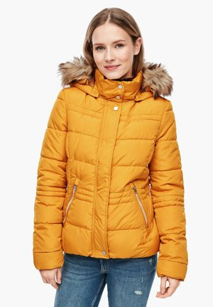 Winter jacket - golden yellow