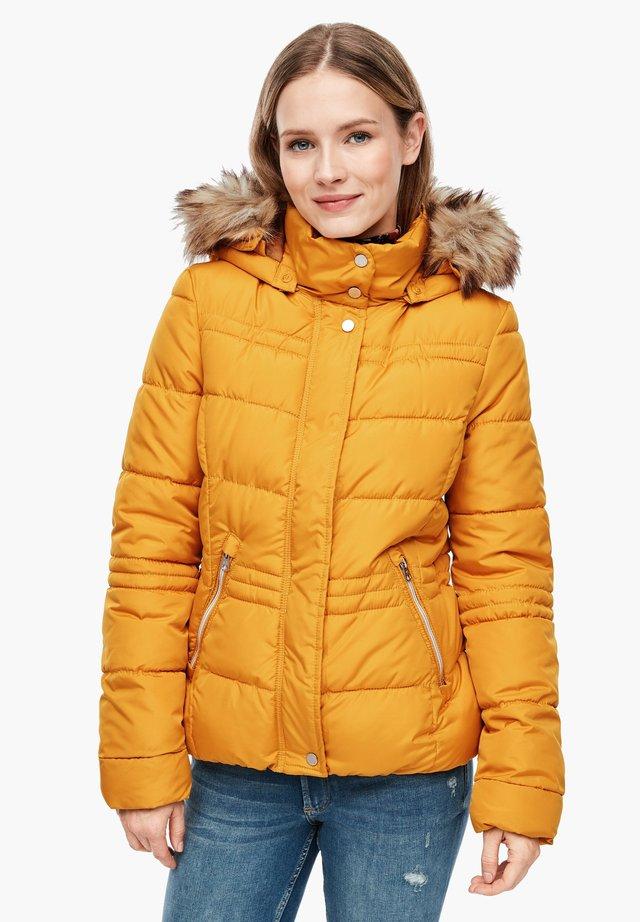 Winter jacket - golden yellow