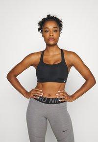 Nike Performance - ALPHA BRA - Sports-bh'er - black/white - 0