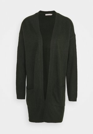 PCBIANCA LONG CARDIGAN - Cardigan - dark green
