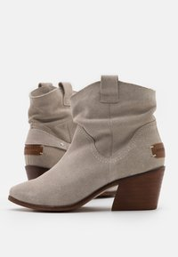 Musse & Cloud - CAMILA - Cowboy/biker ankle boot - ice - 5