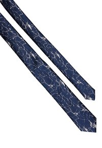 Twisted Tailor - CRACKED TIE - Krawat - navy - 3