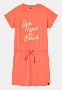 Cars Jeans - SANIBEL  - Jersey dress - neon orange - 0