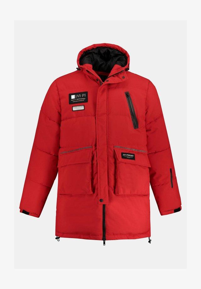 BIG & TALL TRIPLE FUNCTION - Veste de ski - bright red