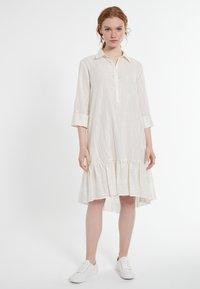 Ana Alcazar - DACOTIS - Shirt dress - offwhite - 0