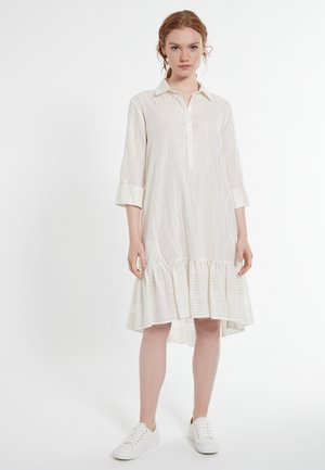 DACOTIS - Shirt dress - offwhite
