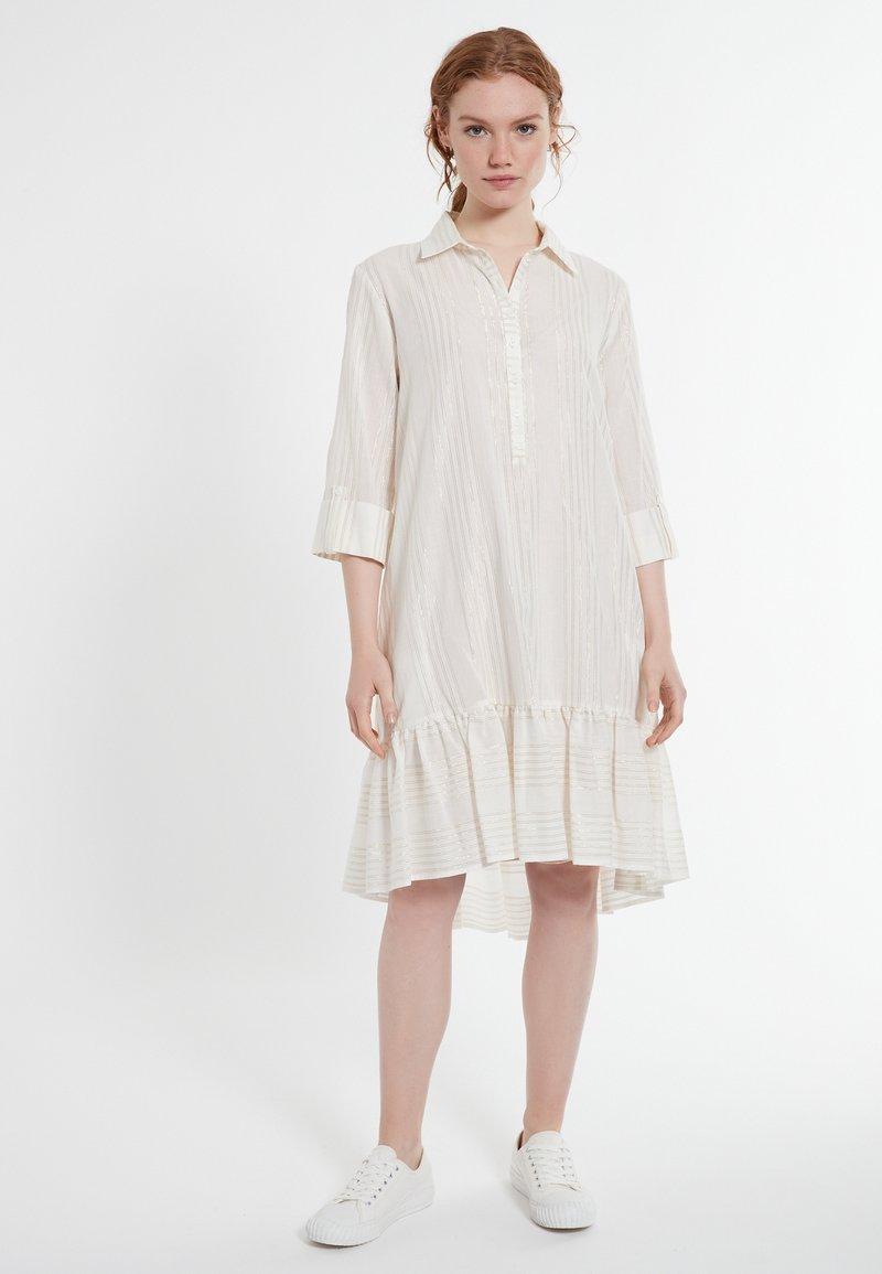 Ana Alcazar - DACOTIS - Shirt dress - offwhite